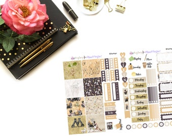 Wizard World Kit// MINI HP Weekly Kit// 2 sheets of planner stickers