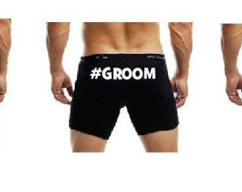 Boxer Briefs for Groom Party