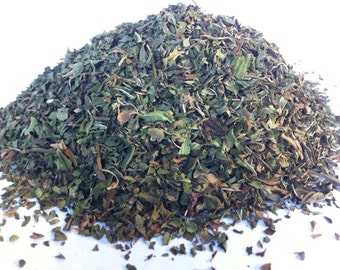 ORGANIC PEPPERMINT TEA (Organic Loose Leaf Herb Tea) Sample