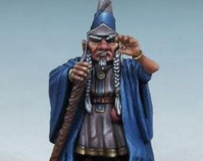 DiTerlizzi Masterworks: Barty The Magnificent, Halfling Wizard - 4608 - Dark Sword Miniatures
