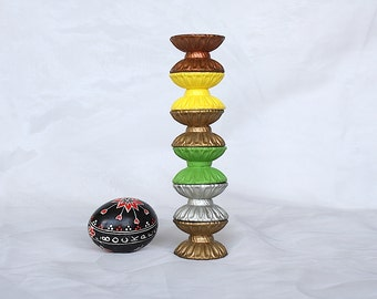 Vintage Egg Holders - Ceramic Egg Holders - Easter Egg Holders - Easter Egg Display - Vintage Egg Cups - Vintage Easter Decor