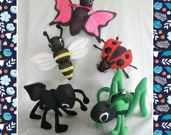 BUGS GALORE!   Ant..Butterfly...Bee...Grasshopper...Ladybug