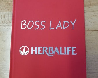 Boss Lady Combo  journal and button
