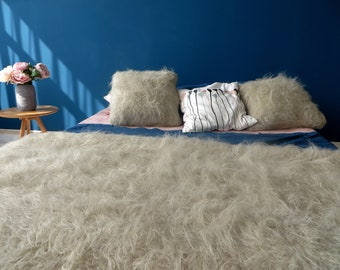 Shaggy Throw,Flokati Bed Blanket,Shaggy Scarf,Flokati Sofa,Flokati Pillow,