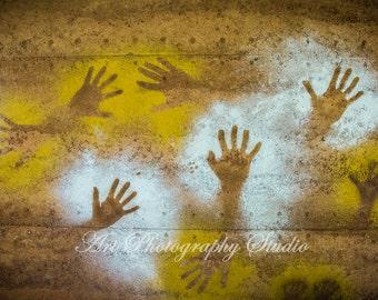 Hands Impression Hand Prints