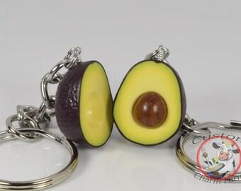 Avocado Keychain for Best Friends -  HASS avocado variety