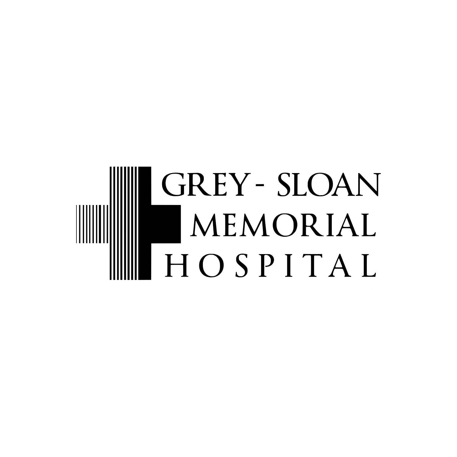 Grey\'s Anatomy TV Show Grey Sloan Memorial Hospital Black