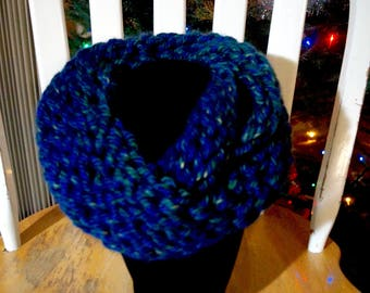 Double loop Infinity Scarf