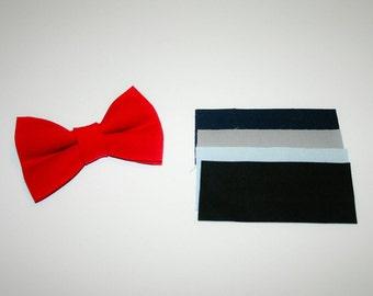 Dog BOW TIE, Dog Bowtie, Bow Tie, Red Dog Bow Tie, Red Dog Bowtie, Red, Navy Blue, Grey,  Baby Blue, Black