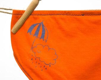 Rain Cloud Women's Underwear - Recycled Cotton - Women's 6 - Ready to Ship