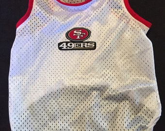 San Francisco 49'ers Sleeveless Dog Shirt
