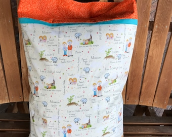 Pillowcase - CTR Themed Pillowcase / Missionary Gift/ LDS Gift - Made With Out Of Print Fabric