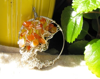 Tree of life, Silver sunset