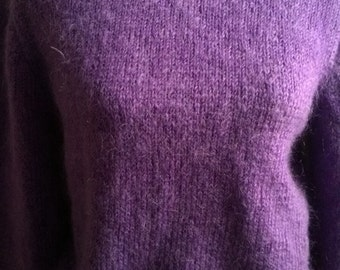 Mohair handknitted Sweater size 38/40