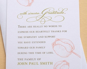 personalized funeral thank you cards fastnchrock personalized funeral thank you cards expocarfo choice image