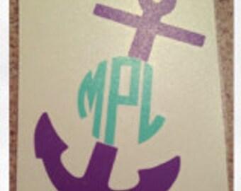 Custom Anchor Decal