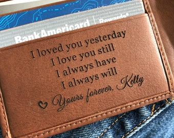 Personalized leather wallet • Personalized wallet • personalized mens wallet, mens leather wallet • leather RFID wallet • Toffee 7751 >