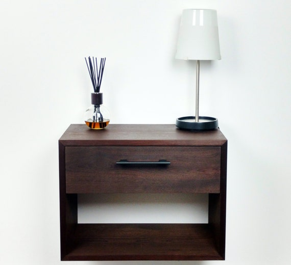 floating dynamicpeople size nightstand mounted drawer with large wall of club
