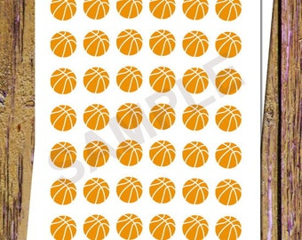 42 Basketball Planner Stickers Basketball Stickers Basketball Game Functional Stickers Game Stickers Icon Planner Stickers Planning A21