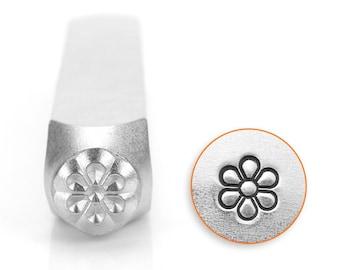 FLOWER BURST- Metal Design Stamp ImpressArt- 6mm Design Stamp-Steel Stamps-Metal Supply Chick-New