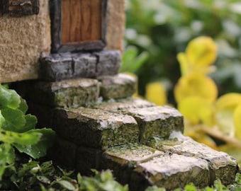 fairy garden steps, fairy garden walkway, terrarium fairy garden landscaping, fairy garden stairs, fairy accessories