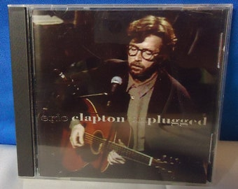 "033018 17 Used Eric Clapton ""Unplugged"" CD Reprise 9 45024-2"