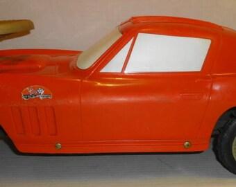 1966 Vintage Chevy Corvette 427 Turbo Jet Stingray Ride-On Toy Car