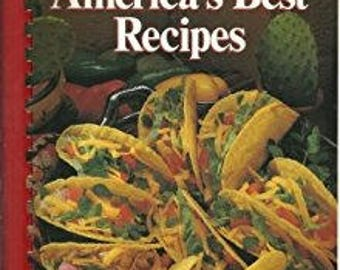 Vintage Cookbook: America's Best Recipes ~ 1989 Hometown Collection, Oxmoor House, First Printing, by Janice L. Krahn (editor)