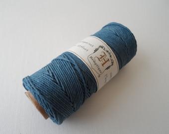 5m dusky Dusky blue Hemp cord