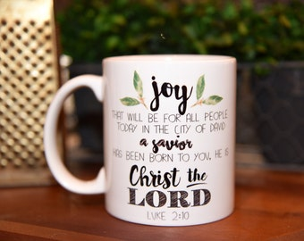 LUKE 2:10 Coffee Mug