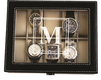 Personalized Fathers Day Gift, Husband Gift, Father's Day Gift for Him, Gifts for Boyfriend, Fathers Day Gifts for Men, Watch Box Case
