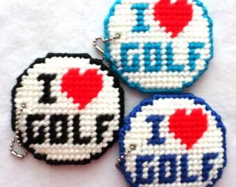 Accessories - I Love Golf Keychain