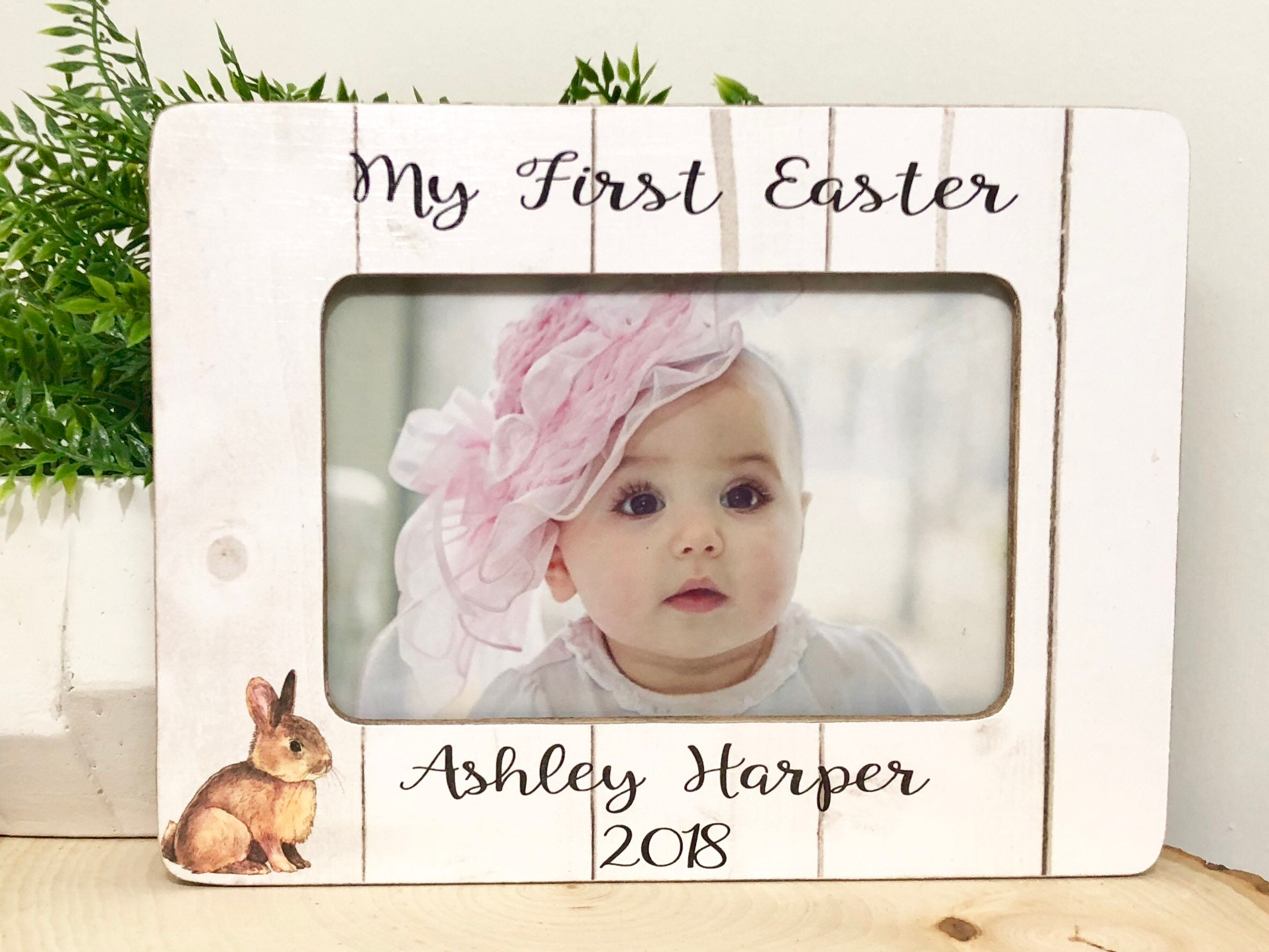 My First Easter Frame• Baby Frame• Easter 2018• Personalized Easter ...
