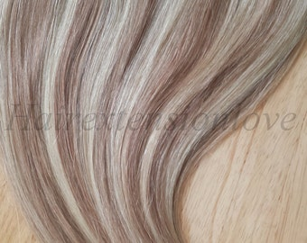 "22-24"" 100g One piece Clip in-QUAD weft- Instant volumizer- human hair extensions/ 100g/ Many colors/ WOW!!"