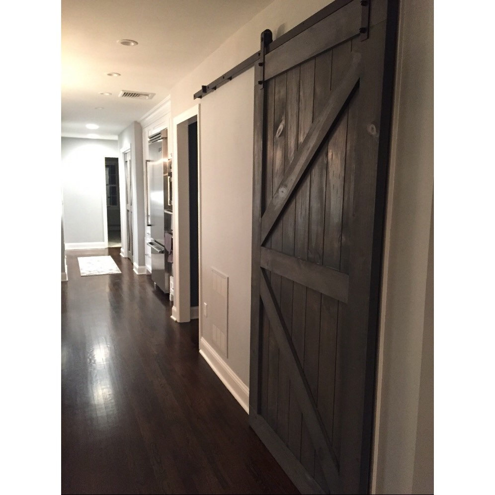 Custom Made Sliding Barn Door British Brace Design By Rustic