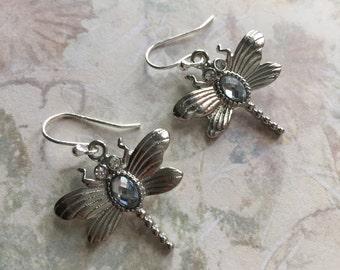 Grey Sky Earrings