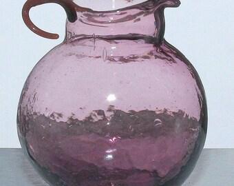 Antique Glass Dollhouse Pitcher Miniature
