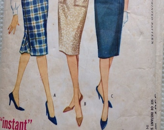 Instant skirt McCalls sewing pattern