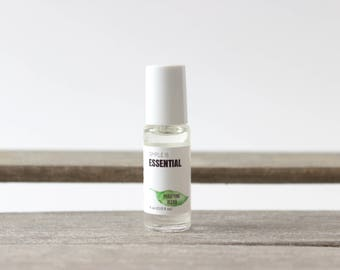 Purifying Roll on Blend - Essential Oils: Lemongrass, Rosemary, Tea Tree, Myrtle & Citronella Essential Oils. Wearable Roll-on Blend Oil