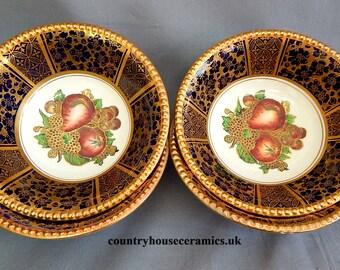 A Set of 4, Solian Ware, Dessert Bowls