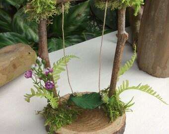 Fairy Swing by Olive* ~  Faerie Swing, Fae Swing, Faerie, Fairy Accessories