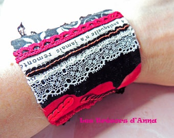 "Cuff collection ""Roses of the Alhambra"""