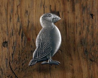 Puffin Brooch