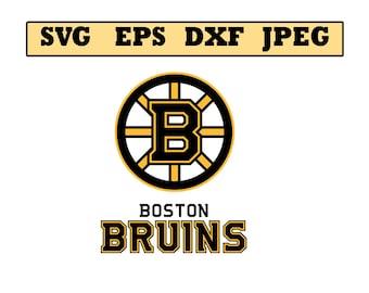 Boston bruins svg etsy boston bruins svg file vector design in svg eps dxf and voltagebd Image collections
