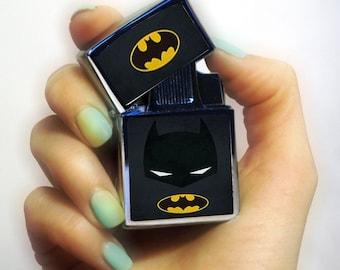 Batman lighter, Personalized Lighter, Batman fan lighter, superhero lighter, vintage lighter, pipe