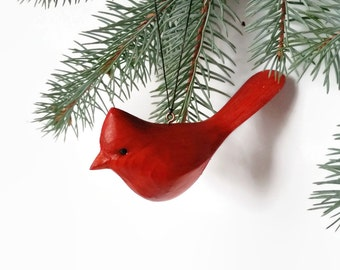 Cardinal gift for her birthday gift for women Mothers Day gift handmade gift  housewarming gift hostess gift  for mom gift for mum bird red