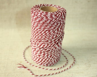 2 mm Cotton Yarn = 1 Spool = 110 Yards = 100 Meter Elegant 100 % COTTON Twisted CORD Great House Decor Macrame Rope Wedding Anniversary