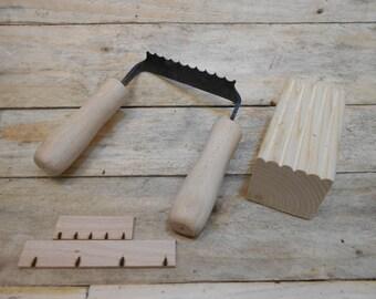 viking to medieval  style reeding iron