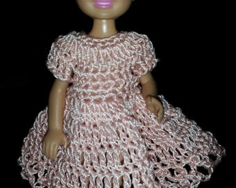 Hand crocheted Kelly/Chelsea Mattel Doll Clothes