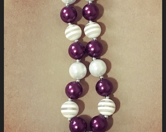 Texas A&M chunky necklace